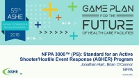 NFPA 3000™ (PS): Standard for an Active Shooter / Hostile Event Response (ASHER) Program