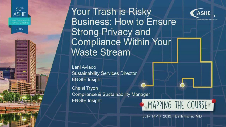 Your Trash Is Risky Business: How to Ensure Strong Privacy and Compliance Within Your Waste Stream