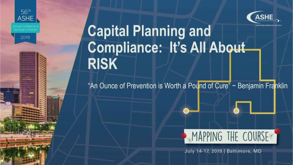 Capital Planning and Compliance: It's All About RISK