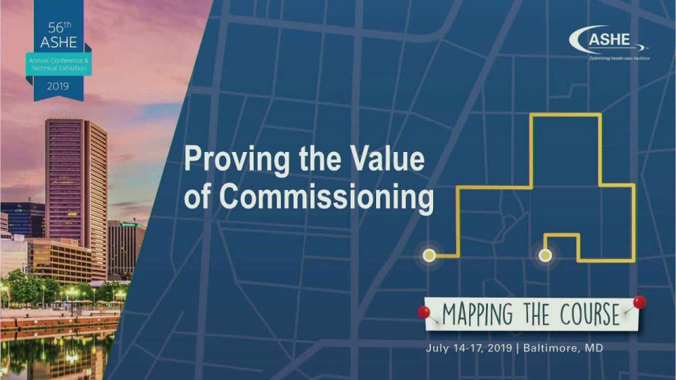 Proving the Value of Commissioning