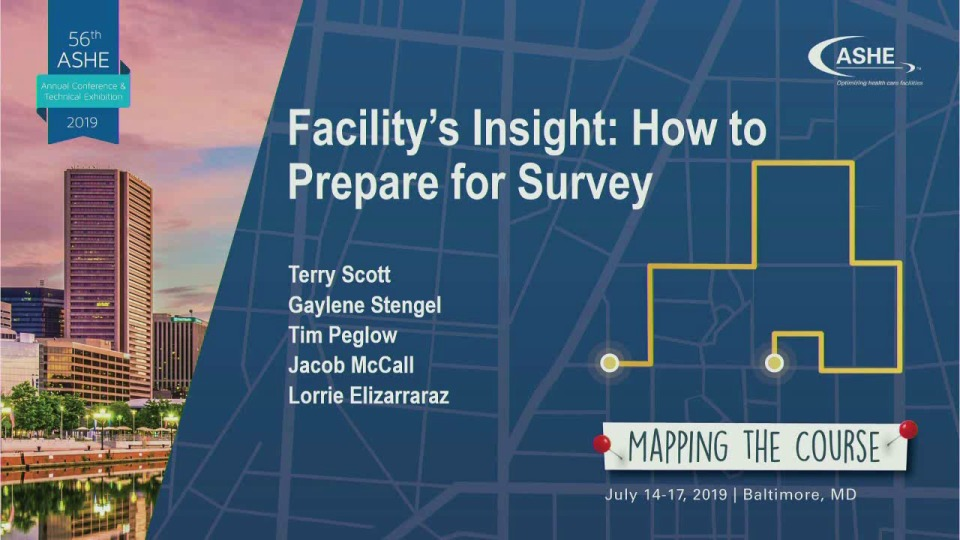 Facility's Insight: How to Prepare for Survey