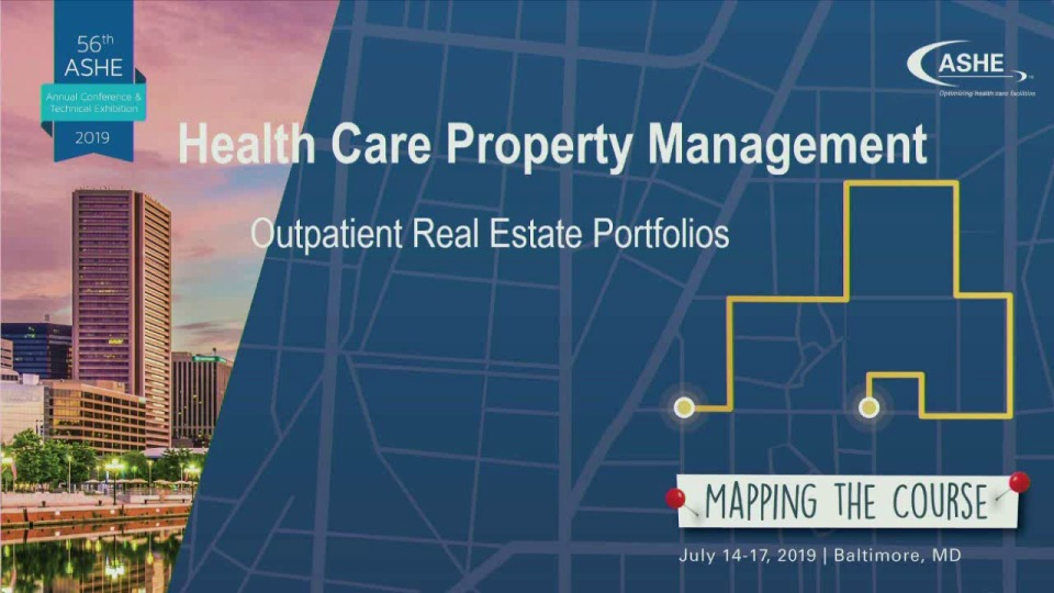 Health Care Property Management: Outpatient Real Estate Portfolios