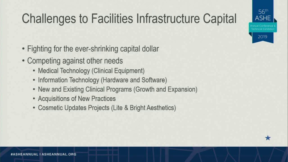 Facilities and Infrastructure Projects: How to Compete for the Diminishing Capital Dollars!