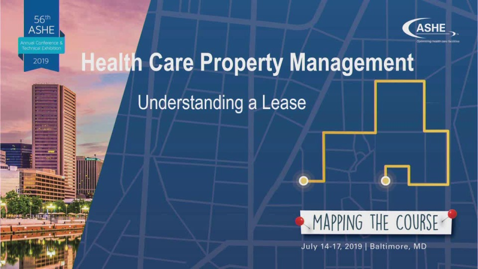 Health Care Property Management: Understanding a Lease