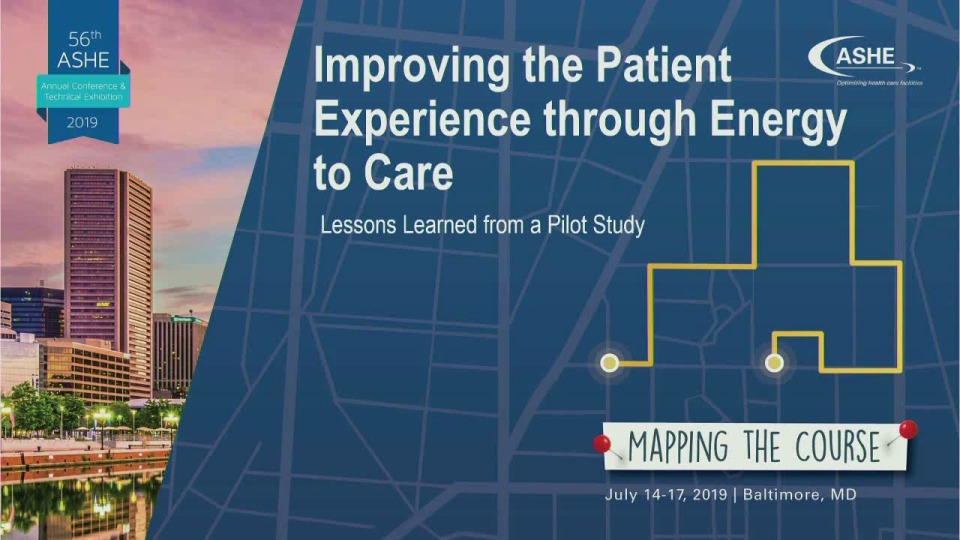 Improving the Patient Experience through Energy to Care