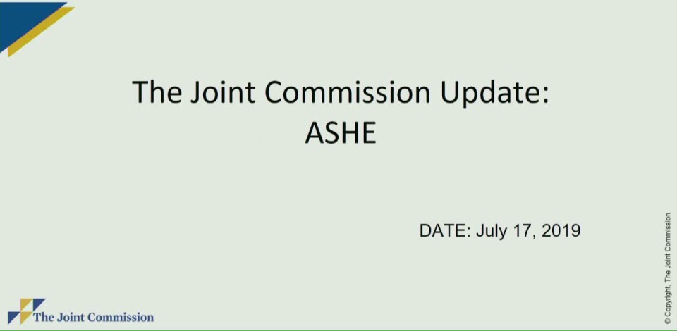 The Joint Commission Update