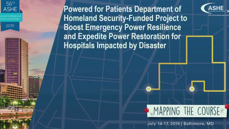 Powered for Patients DHS NIPP Security & Resilience