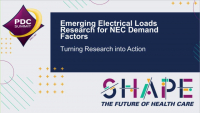 Emerging Electrical Loads Research for NEC Demand factor