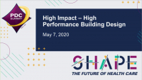 High Impact - High Performance Building Design