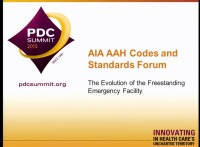 Codes and Standards Forum: The Evolution of the Freestanding Emergency Facility