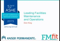 Leading Facility Maintenance and Operations