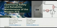 Optimizing Safety and Reliability: Maintenance of the Modern Automatic Transfer Switch