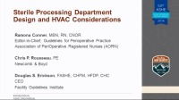 Sterile Processing Department Design and HVAC Considerations