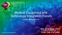 Medical Equipment and Technology Integration
