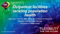 Outpatient Facilities Tackling Population Health