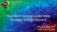 How Bed-Free Campuses Meet Strategic Service Demand