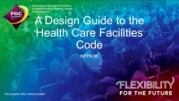 A Design Guide to the Health Care Facilities Code