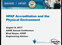 HFAP Accreditation and the Physical Environment