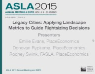 Legacy Cities: Applying Landscape Metrics to Guide Rightsizing Decisions - 1.5 PDH (LA CES/HSW)