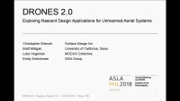 Drones 2.0: Exploring Nascent Design Applications for Unmanned Aerial Systems - 1.5 PDH (LA CES/non-HSW)