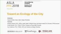 Toward an Ecology of the City - 1.5 PDH (LA CES/HSW)
