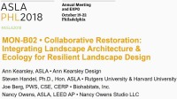 Collaborative Restoration: Integrating Landscape Architecture and Ecology for Resilient Landscape Design - 1.5 PDH (LA CES/HSW)