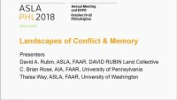 Landscapes of Conflict and Memory - 1.5 PDH (LA CES/HSW)