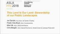 This Land Is Our Land: Stewardship of Our Public Landscapes - 1.5 PDH (LA CES/HSW)