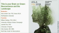 This Is Your Brain on Green: Neuroscience and the Landscape - 1.5 PDH (LA CES/HSW)