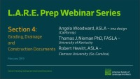 ASLA LARE Prep Week – Section 4 Review #LAREprep