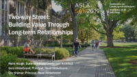 Two-way Street: Building Value Through Long-Term Relationships - 1.0 PDH (LA CES/non-HSW)