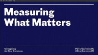 Measuring What Matters: Metrics to Capture the Social Impacts of Public Spaces - 1.25 PDH (LA CES/HSW)