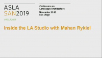 Inside the LA Studio with Mahan Rykiel Associates - 1.25 PDH (LA CES/non-HSW)