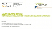 ADA to Universal Design: Creating Healthy Communities Through Equitable Design Approaches - 1.0 PDH (LA CES/HSW)
