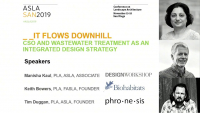 IT Flows Downhill: CSO and Wastewater Treatment as an Integrated Design Strategy - 1.5 PDH (LA CES/HSW)