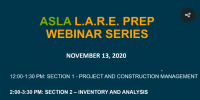Virtual LARE Prep Workshop: Section 2 – Inventory & Analysis