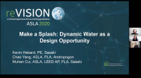 Make a Splash: Dynamic Water as a Design Opportunity - 1.0 PDH (LA CES/HSW) / 1.0 GBCI SITES-Specific CE