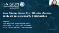 Metro-Atlanta's Hidden River: 100-miles of Access, Equity, and Ecology along the Chattahoochee - 1.0 PDH (LA CES/HSW)