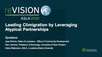 Leading Climigration Solutions by Leveraging Atypical Partnerships - 1.0 PDH (LA CES/HSW)
