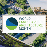 World Landscape Architecture Month – 4.0 PDH