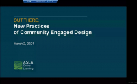 Out There: New Practices of Community Engaged Design - 1.0 PDH (LA CES/HSW)