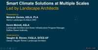 Smart Climate Solutions at Multiple Scales, Led by Landscape Architects - 1.0 PDH (LA CES/HSW)