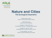 Nature and Cities: The Ecological Imperative - 1.5 PDH (LA CES/HSW)