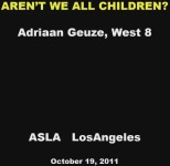 Aren't We All Children? Considering Play in the Public Landscape - 1.5 PDH (LA CES/HSW)