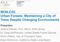 Urban Forests: Maintaining a City of Trees Despite Changing Environments - 1.5 PDH (LA CES/HSW)