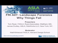 Landscape Forensics: Why Things Fail - 1.5 PDH (LA CES/HSW)
