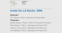 Inside the LA Studio SWA Group - 1.5 PDH (LA CES/non-HSW)