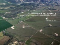 Subsurface to Surface: Fracking Needs Landscape Architect Attention - 1.5 PDH (LA CES/HSW)