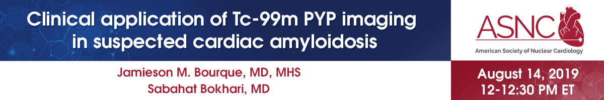 Clinical application of Tc-99m PYP imaging in suspected cardiac amyloidosis