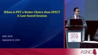 When is PET a Better Choice than SPECT: A Case-based Session